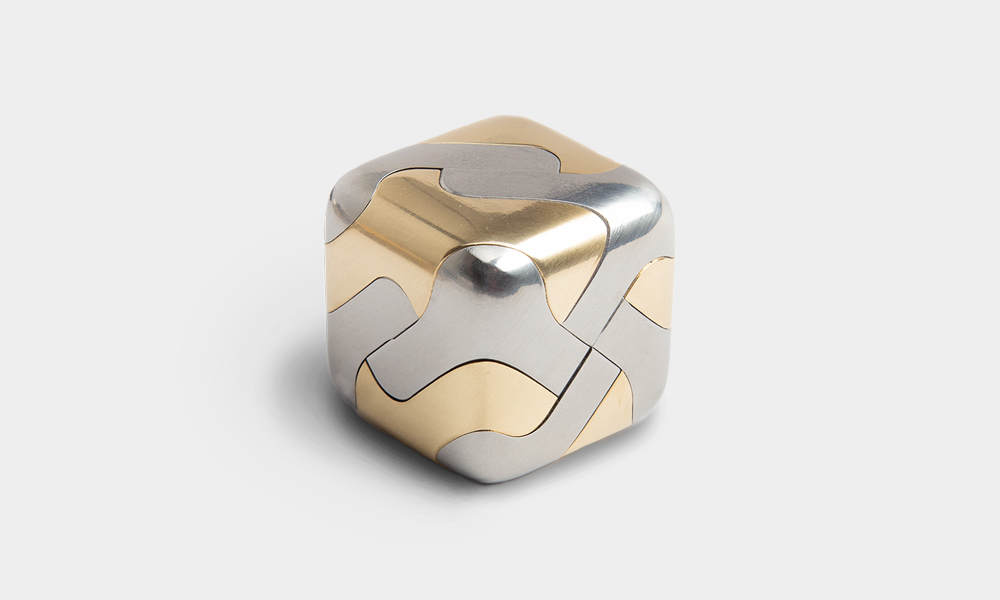 Craighill Tycho stainless and brass Puzzle